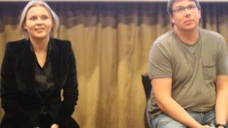 Новый комедийный сериал ТНТ «Ольга» представляют Яна Троянова и Артём Логинов ( Санкт-Петербург )