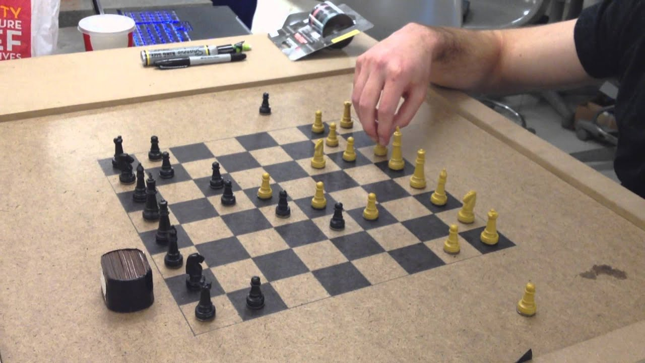 Wireless arduino powered chess doovi