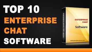 Best Enterprise Chat Software - Top 10 List