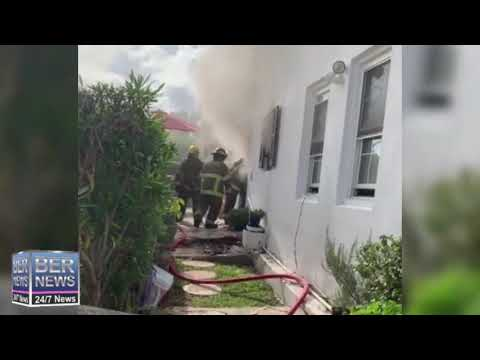BFRS Extinguish Fire In Devonshire, Oct 5 2020