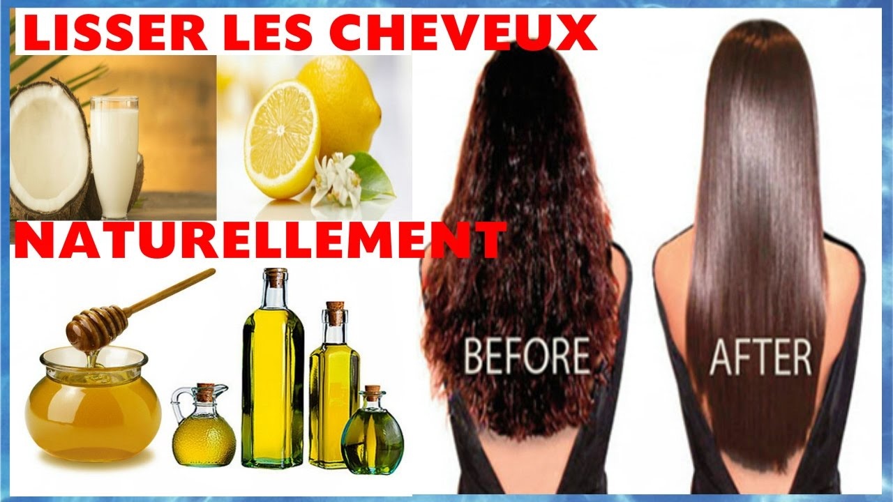 Comment lisser les cheveux naturellement 3 remedes for Aphte remede maison