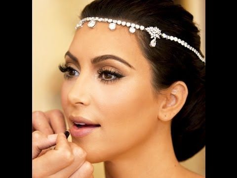 kim kardashian wedding makeup tutorial youtube