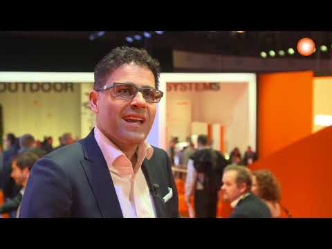 Light + Building 2018: Erol Kirilmaz – Managing Director and Chief Sales/Marketing Officer