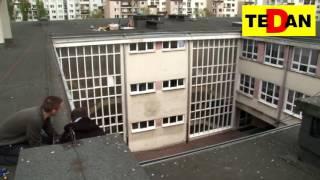 Ochrona zabezpieczenie przed ptakami Warszawa www.tedan.com.pl