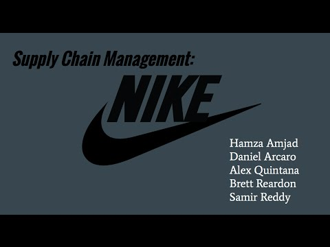 Supply Chain Management At Nike