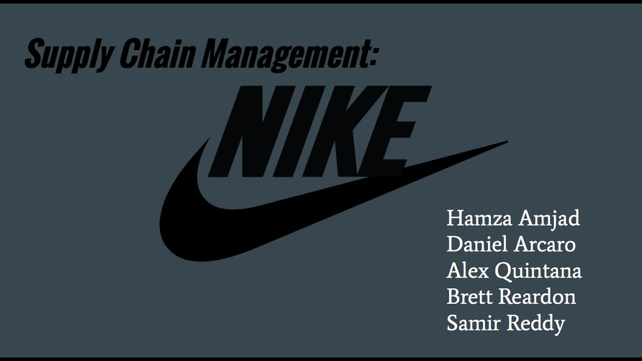 nike supply chain Nike is looking to reduce lead times for its orders from 60 days to a mere  nike's  goal is a supply chain manager's dream: the operations team.