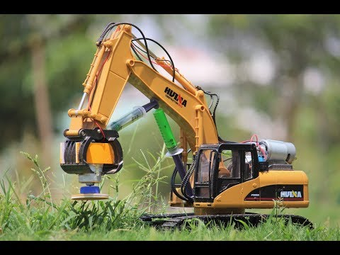 How To Make a Grass Cutter JCB