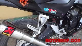 Knalpot Racing CBR 150 Lokal K45 Akrapovic GP Garda Titanium Slip On