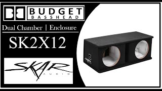 Skar Audio SK2X12V - Dual Subw…