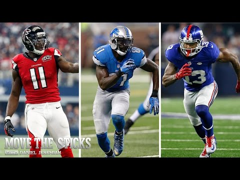 Top 10 Wide Receivers | Move The Sticks (9/30/15) | NFL