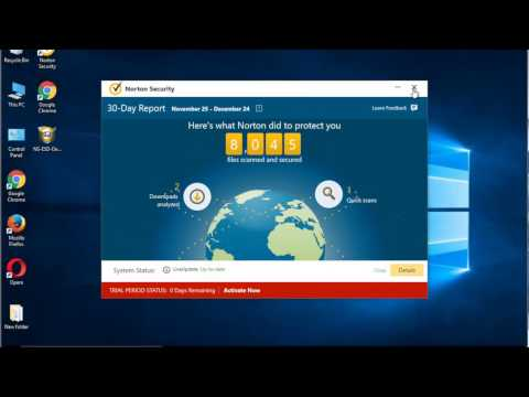 Uninstall Norton Security On Windows 10
