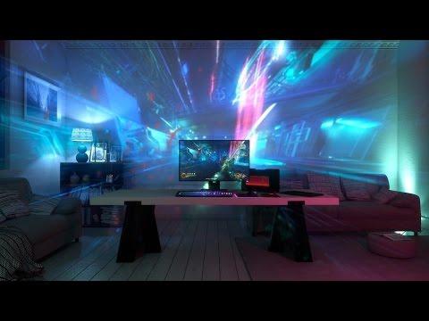 Impressions of Razer's Room-Illuminating Gameplay Projector - CES 2017