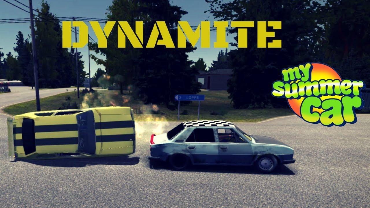 Dynamite Dynamite Box Location My Summer Car 26 Mod Youtube