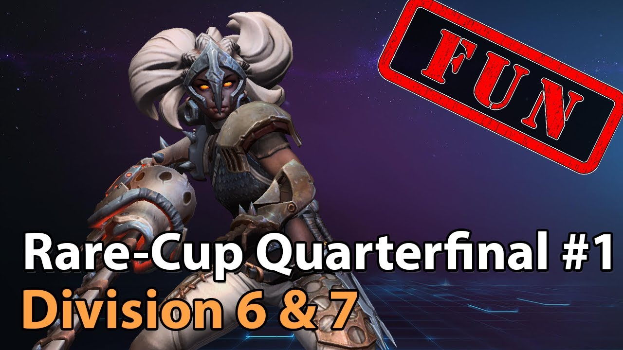 ► Semifinal #1 - Rare Cup - Division 6 & 7 - Heroes of the Storm Esports