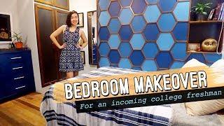 50k Php Bedroom Makeover // College Teen Boy