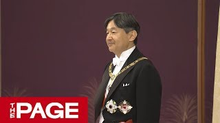 新天皇陛下が5月1日、皇位に就かれた。それに伴う国事行為の儀式「剣璽...
