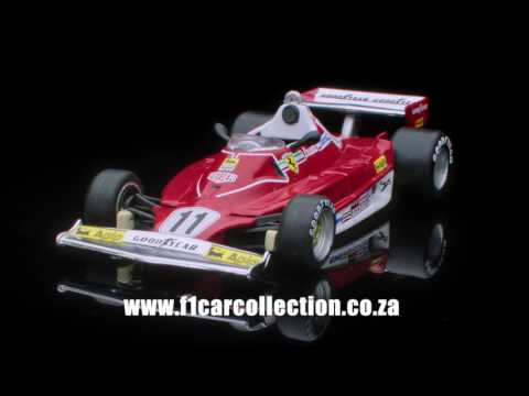 F1 Car Collection - South Africa 20 Second TV Ad