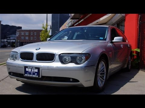 2003 bmw 7 series 745li luxury rear seat package youtube. Black Bedroom Furniture Sets. Home Design Ideas