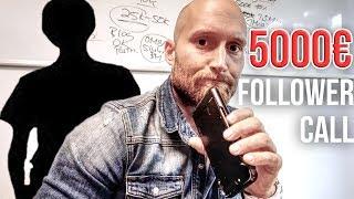 Ich rufe gescheiterten Follower an und helfe ihm 5.000€ pro Monat zu verdienen