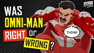 INVINCIBLE: Was Omni-Man Right?