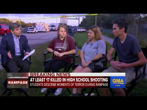 ABC News - Students describe moments of deadly high school shooting.