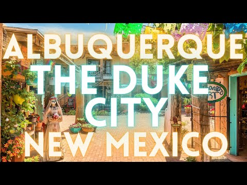 Albuquerque New Mexico Virtual Tour 4K