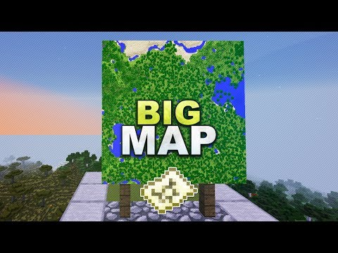 Minecraft - Große Maps Erstellen // How To Make A Big Map - Tutorial 1.13