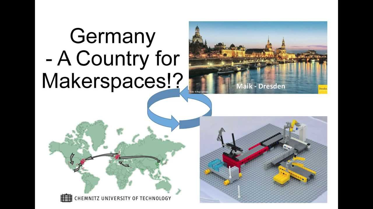 FabLabCon2013: Maik Jähne - Germany - a country for makerspaces?