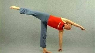 Видео уроки по йоге. Полумесяц