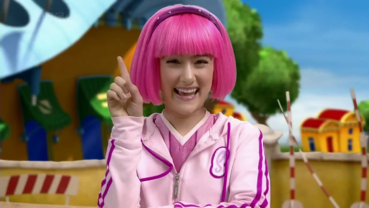 Stephanie lazy town adult