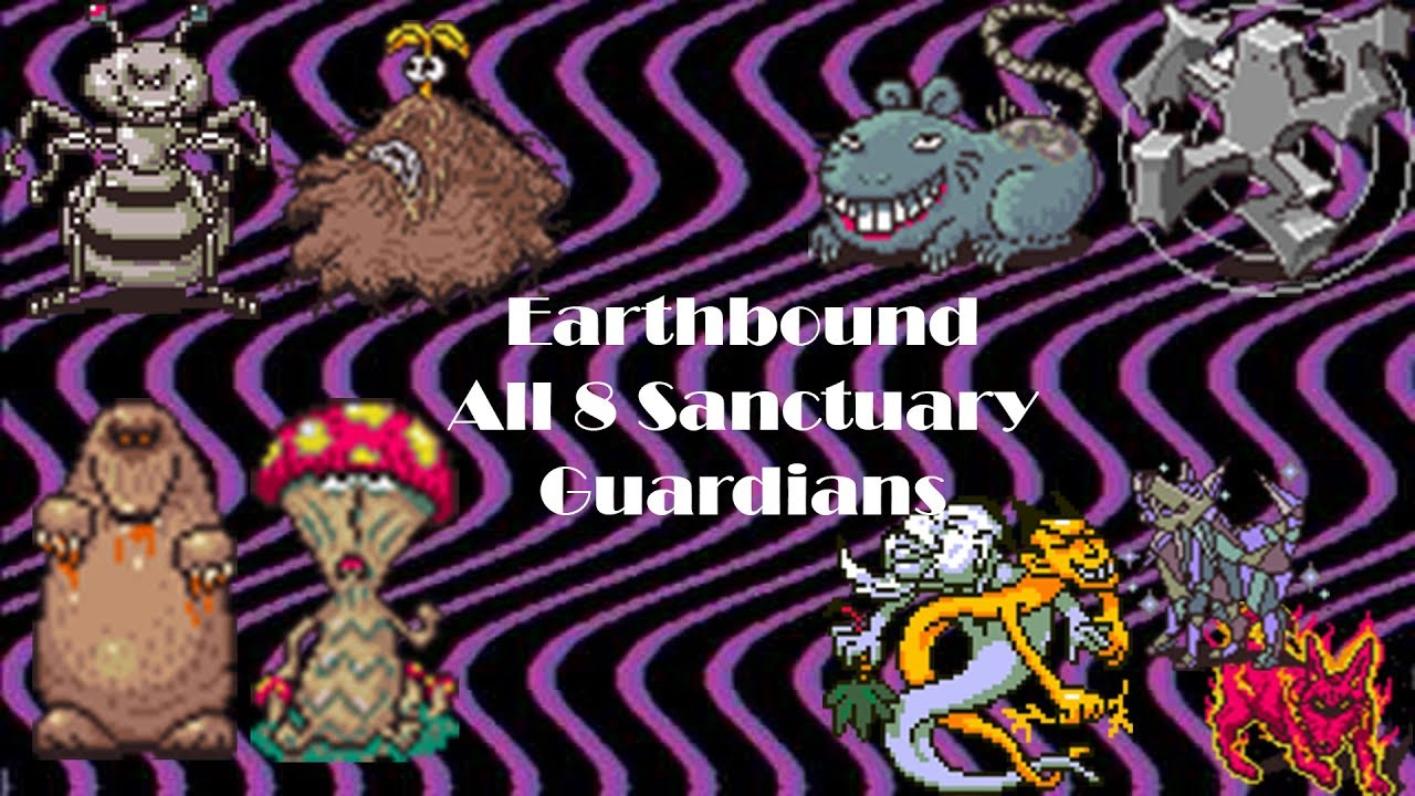 Download Earthbound - All 8 Sanctuary Guardian Fights