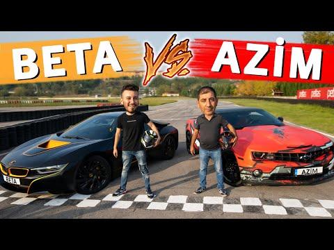 BETA (BMW i8) VS AZİM (Camaro) DRAG YARIŞI - Enes Batur Vs MC Yaralı