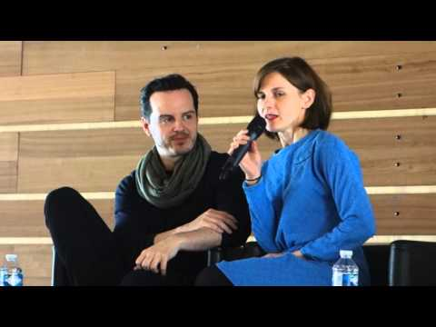 PARIS COMICS EXPO  Panel des acteurs Andrew Scott et Louise Brealey  160416 13