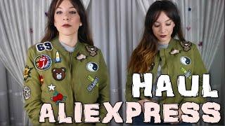 SUPER MEGA HAUL ALIEXPRESS, SHEIN, ROMWE: Bombers, chaquetas, blusas, random...