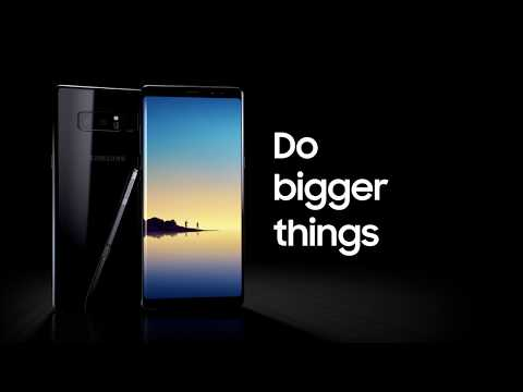Samsung Indonesia: Galaxy Note8 - Pre Order to #DoBiggerThings