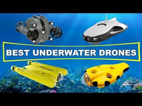 4 BEST UNDERWATER DRONES