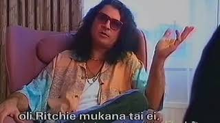 Deep Purple's Ian Gillan on Helsinki TV Nov 1993