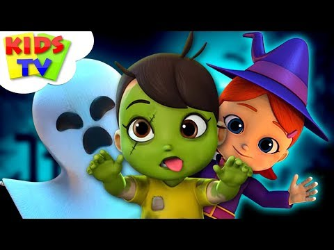 Happy Halloween | Boom Buddies | Cartoon Videos For Toddler By Kids Tv