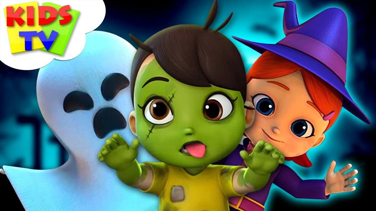 Happy Halloween Boom Buddies Cartoon Videos For Toddler By Kids Tv Youtube