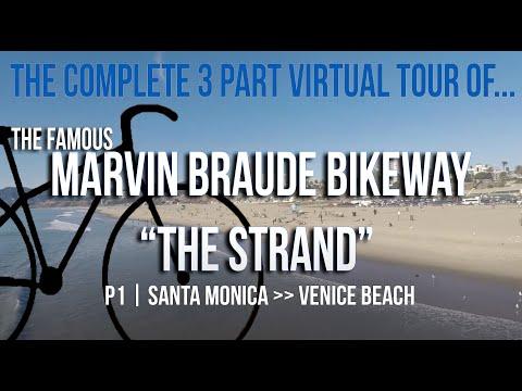 "Marvin Braude Bike Trail ""The Strand"" | P1 | SANTA MONICA & VENICE BEACH | P1"