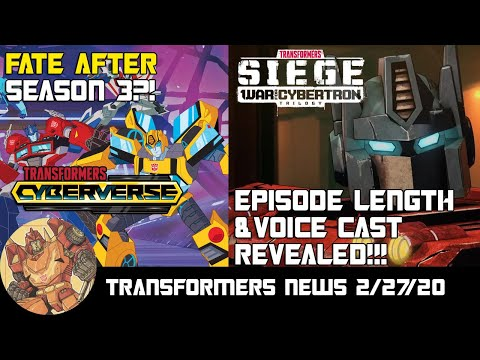 Cyberverse Is OVER?! Siege Episode Length And Voice Cast Revealed!