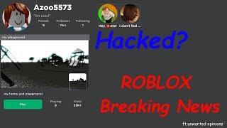 Azoo5573 HACKED? Roblox Breaking News | Sam News