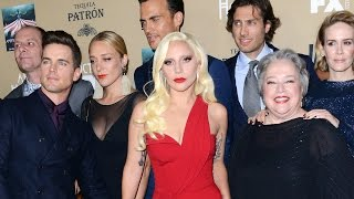 Lady Gaga's Interview on the American Horror Story: Hotel Red Carpet