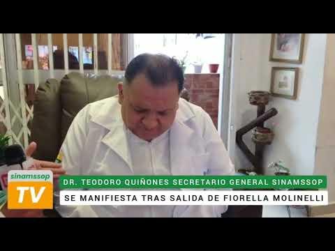 SE MANIFIESTA TRAS SALIDA DE FIORELLA MOLINELLI
