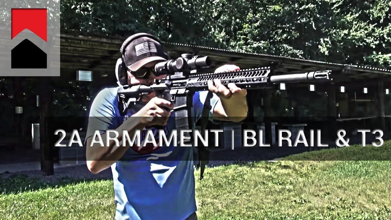 2A Armament - BL Rail Keymod & T3 Compensator
