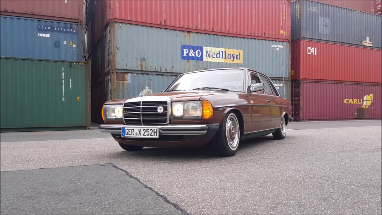mercedes benz w123 tuning e200 youtube. Black Bedroom Furniture Sets. Home Design Ideas