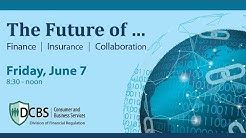 Division of Financial Regulation - Innovation Conference