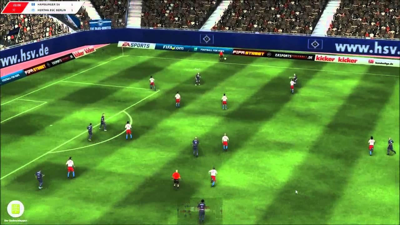 Fussball Manager 12 08 Hsv 3d Spiel 1 2 Hd