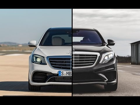new 2018 mercedes amg s 63 4matic vs old mercedes amg s. Black Bedroom Furniture Sets. Home Design Ideas