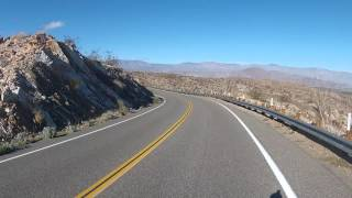 Montezuma Grade (Borrego Springs, CA) Descent Part 2/2